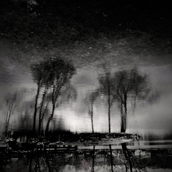 fine art photography, black and white landscape,