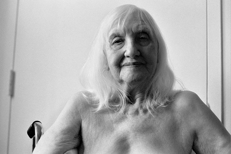 photo of an nonagenarian woman, fine art portraiture