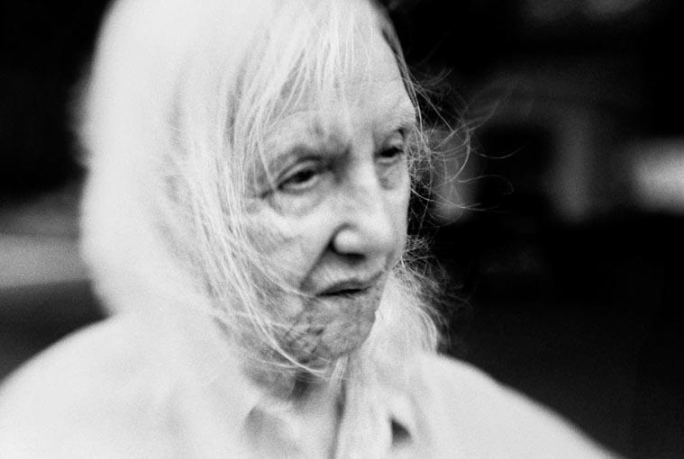portrait of an nonagenarian woman, fine art portraiture