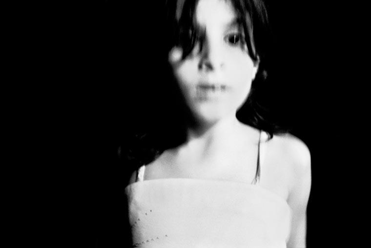 soft focus portrait of a young girl, fine art portraiture